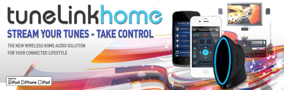 TuneLink Home: Bluetooth Streaming and Remote Control Solution