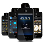 FLPR Universal Remote Control for iPhone, iPod touch and iPad with 30 Pin connector
